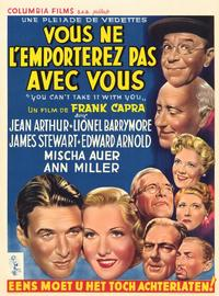 You Can't Take It with You - 11 x 17 Movie Poster - Belgian Style A