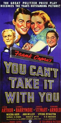 You Can't Take It with You - 43 x 62 Movie Poster - Bus Shelter Style A