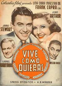 You Can't Take It with You - 27 x 40 Movie Poster - Spanish Style A
