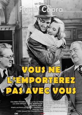You Can't Take It with You - 27 x 40 Movie Poster - French Style A