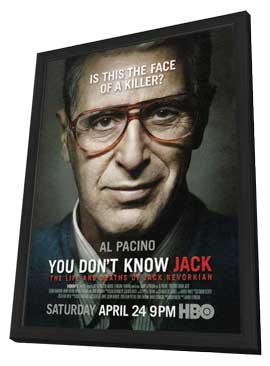 You Don't Know Jack (TV) - 11 x 17 TV Poster - Style A - in Deluxe Wood Frame