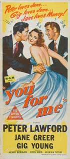 You for Me - 14 x 36 Movie Poster - Insert Style A