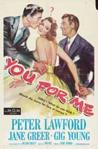 You for Me - 11 x 17 Movie Poster - Style A