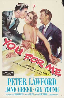 You for Me - 27 x 40 Movie Poster - Style A