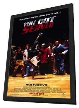 You Got Served - 27 x 40 Movie Poster - Style A - in Deluxe Wood Frame