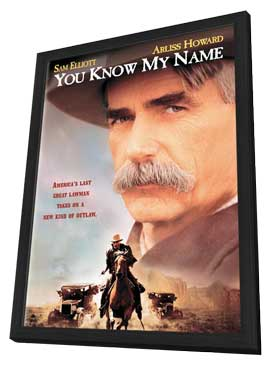 You Know My Name - 11 x 17 Movie Poster - Style A - in Deluxe Wood Frame
