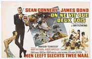 You Only Live Twice - 11 x 17 Movie Poster - Belgian Style A