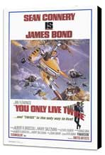 You Only Live Twice - 27 x 40 Movie Poster - Style A - Museum Wrapped Canvas