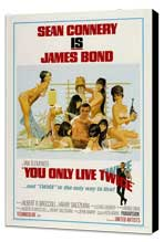 You Only Live Twice - 27 x 40 Movie Poster - Style C - Museum Wrapped Canvas