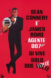 You Only Live Twice - 11 x 17 Movie Poster - Italian Style A