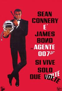 You Only Live Twice - 27 x 40 Movie Poster - Italian Style A