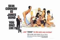 You Only Live Twice - 27 x 40 Movie Poster - Style B