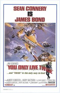 You Only Live Twice - 43 x 62 Movie Poster - Bus Shelter Style B