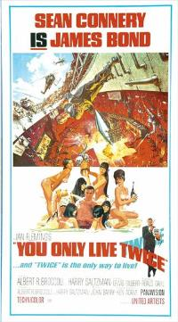 You Only Live Twice - 11 x 17 Movie Poster - UK Style A