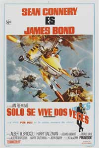 You Only Live Twice - 27 x 40 Movie Poster - Spanish Style A