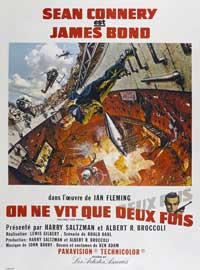 You Only Live Twice - 11 x 17 Movie Poster - French Style A