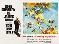 You Only Live Twice - 30 x 40 Movie Poster UK - Style B