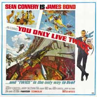 You Only Live Twice - 40 x 40 - Movie Poster - Style A