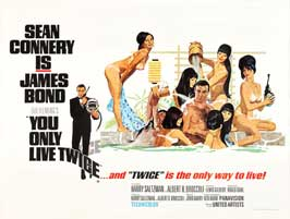 You Only Live Twice - 22 x 28 Movie Poster - Half Sheet Style A