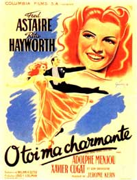 You Were Never Lovelier - 11 x 17 Movie Poster - French Style B