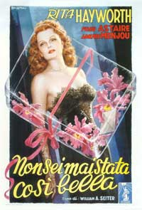 You Were Never Lovelier - 27 x 40 Movie Poster - Italian Style A