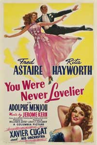 You Were Never Lovelier - 27 x 40 Movie Poster - Style B