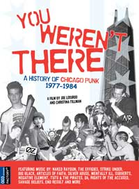 You Weren't There: A History of Chicago Punk 1977 to 1984 - 11 x 17 Movie Poster - Style B