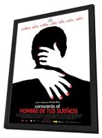 You Will Meet a Tall Dark Stranger - 11 x 17 Movie Poster - Spanish Style A - in Deluxe Wood Frame