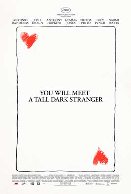 You Will Meet a Tall Dark Stranger - 11 x 17 Movie Poster - Style A