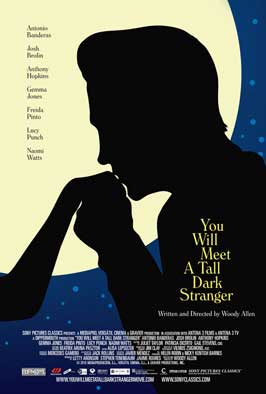 You Will Meet a Tall Dark Stranger - 11 x 17 Movie Poster - Style B