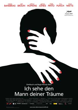 You Will Meet a Tall Dark Stranger - 11 x 17 Movie Poster - German Style A
