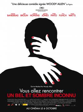 You Will Meet a Tall Dark Stranger - 27 x 40 Movie Poster - French Style A