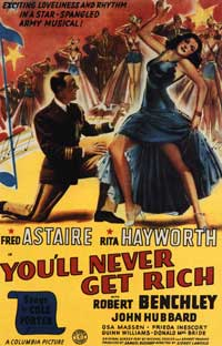 You'll Never Get Rich - 11 x 17 Movie Poster - Style C