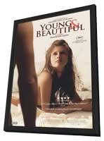 Young and Beautiful - 11 x 17 Movie Poster - Canadian Style A - in Deluxe Wood Frame