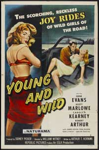 Young and Wild - 27 x 40 Movie Poster - Style B