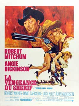 Young Billy Young - 11 x 17 Movie Poster - French Style A