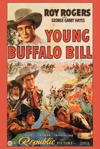 Young Buffalo Bill - 27 x 40 Movie Poster - Style A
