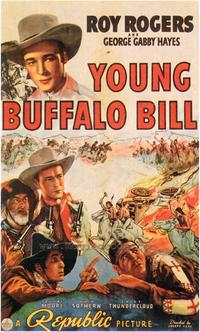 Young Buffalo Bill - 43 x 62 Movie Poster - Bus Shelter Style A