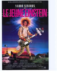 Young Einstein - 11 x 17 Movie Poster - French Style A