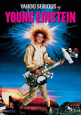 Young Einstein - 43 x 62 Movie Poster - Bus Shelter Style A