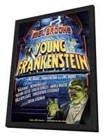 Young Frankenstein (Broadway) - 27 x 40 Poster - Style A - in Deluxe Wood Frame