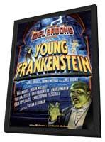 Young Frankenstein (Broadway) - 11 x 17 Poster - Style A - in Deluxe Wood Frame
