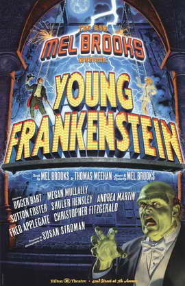 Young Frankenstein (Broadway) - 11 x 17 Poster - Style A