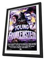 Young Frankenstein - 27 x 40 Movie Poster - Style A - in Deluxe Wood Frame