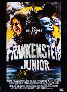 Young Frankenstein - 27 x 40 Movie Poster - Danish Style A