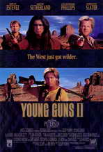 Young Guns 2 - 27 x 40 Movie Poster - Style A