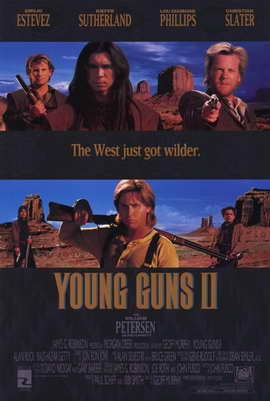 Young Guns 2 - 11 x 17 Movie Poster - Style A