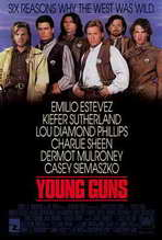 Young Guns - 27 x 40 Movie Poster - Style A