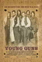 Young Guns - 27 x 40 Movie Poster
