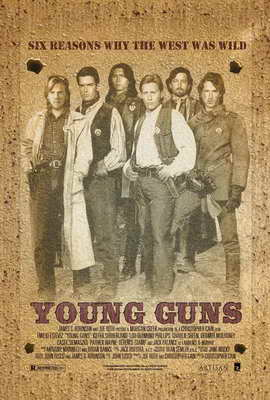 Young Guns - 27 x 40 Movie Poster - Style B